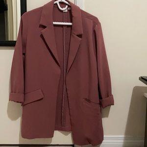 Jackets & Blazers - Pink blazer from simons